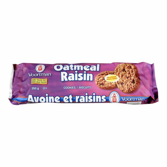 Voortman Oatmeal Raisin Cookies - 350g
