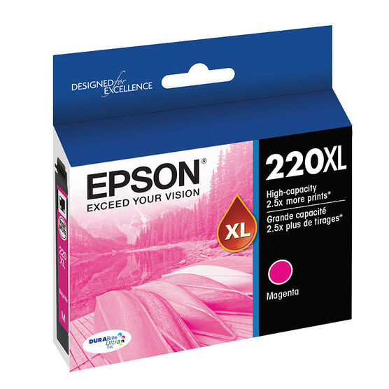 Epson 220XL Ink Cartridge - Magenta - T220XL320-S