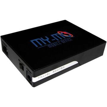 MyMO 1002 Basic Travel Router - Black - MYMO-1002-BB