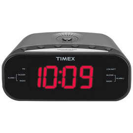 Timex AM/FM Alarm Clock - Silver - T231
