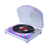 Ion Photon Lighted Turntable - White - IT70
