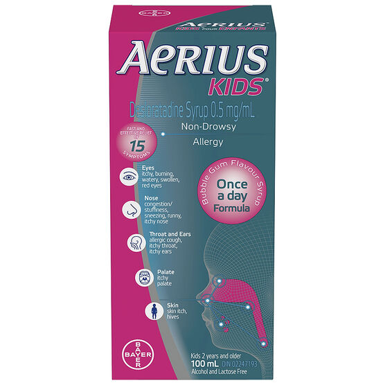 Aerius Kids Syrup - 100ml