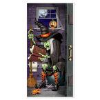 Halloween Witch Door Cover