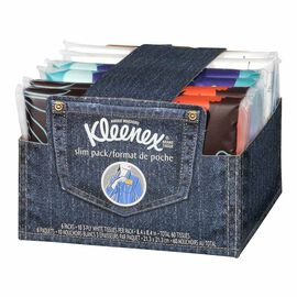Kleenex Slim Wallet Packs - 6 x 10's