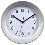 London Drugs Wall Clock - England - Silver/White