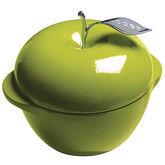 Lodge Cast Enamel Apple Dutch Oven - 3qt