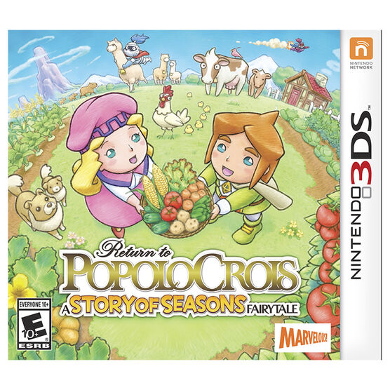 3DS Return To Popolocrois A Story Of Seasons Fairytale