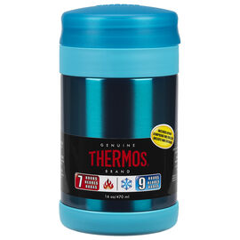 Thermos Food Jar with Spoon - Teal - 470ml