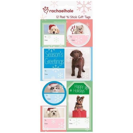 Christmas Rachael Hale Gift Tags - 12s