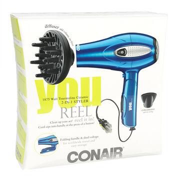 Conair High Torque Folding Handle Cord-reel Dryer - Ceramic - 264C