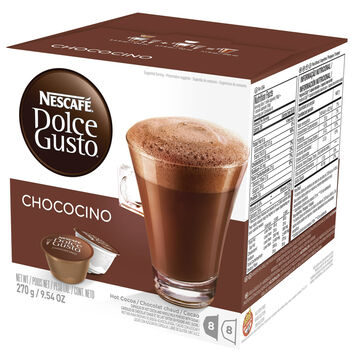 Nescafe Dolce Gusto Two Part Coffee Pods - Chococino - 8's