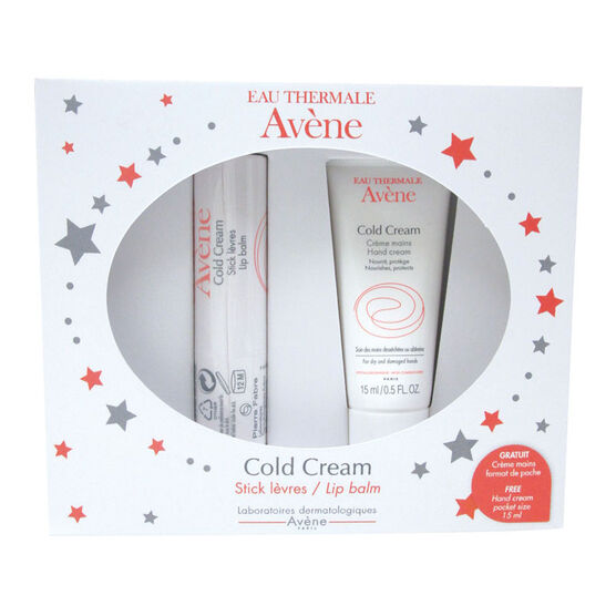 Avene Cold Cream Lip Balm Set - 2 piece