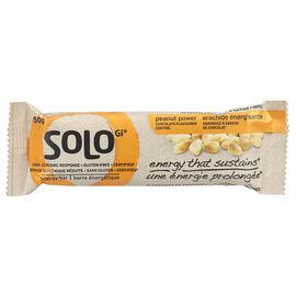 SoLo Gi Energy Bar - Peanut Power - 50g