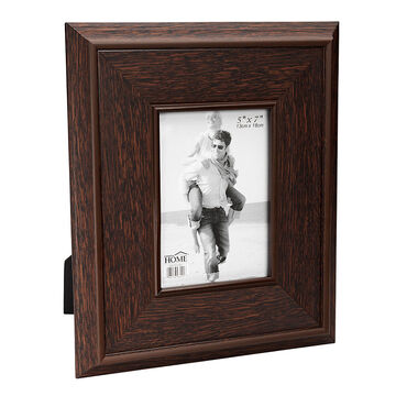 London Home Picture Frame - Wide Wood Panel - 5x7in