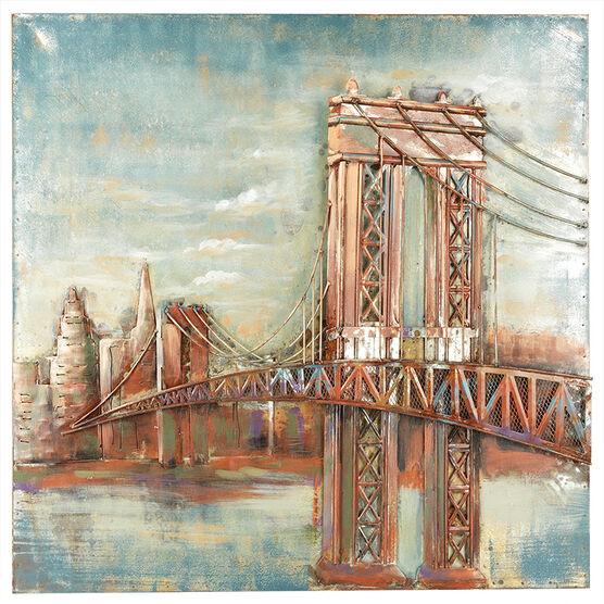 London Drugs Metal Print - Bridge