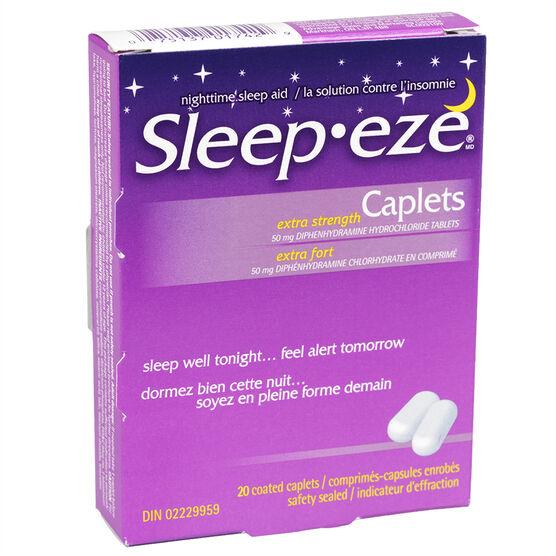 Sleepeze D Extra Strength Capsules - 20's