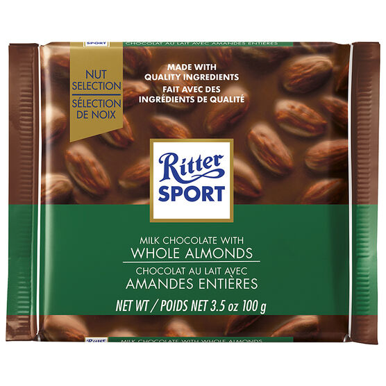 Ritter Sport - Milk Chocolate with Whole Almonds