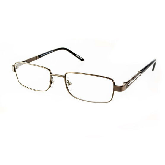 Foster Grant Jagger Reading Glasses - Gunmetal - 2.50