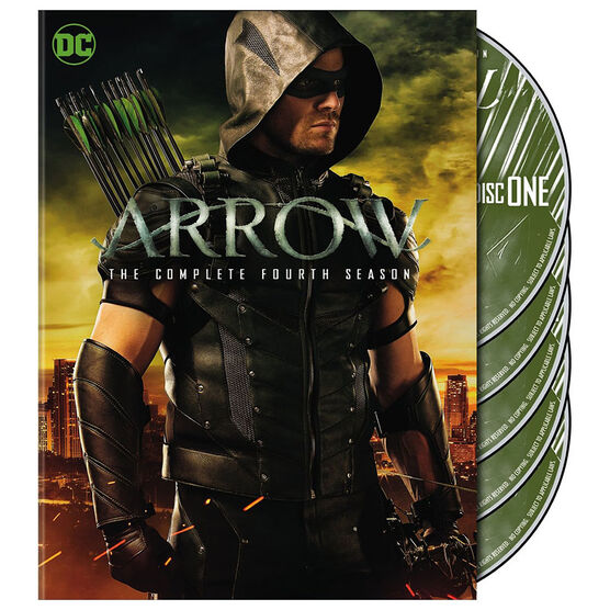 Arrow - The Complete Fourth Season - DVD