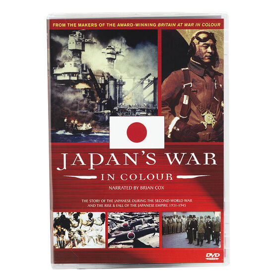 Japan's War In Colour - DVD
