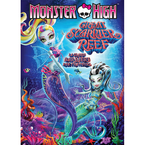 Monster High: Great Scarrier Reef - DVD