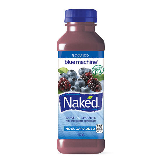 Naked Fruit Smoothie - Blue Machine - 450ml