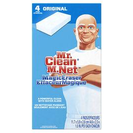 Mr. Clean Magic Eraser - Original - 4 pack