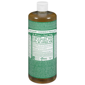 Dr. Bronner's Liquid Pure-Castile Soap - Almond - 944ml