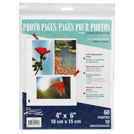 Pacific Trendz 3UP 4x6 Refill 10 Pack - 3UP/4X6