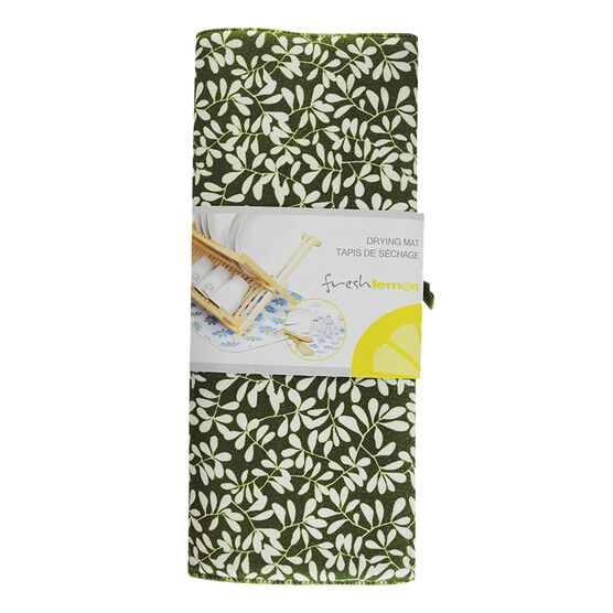 Fresh Lemon Drying Mat - Natural - 38 x 50.8cm