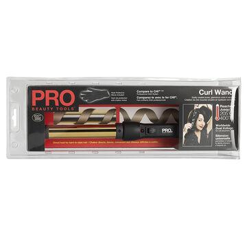 Pro Beauty 24K Gold Plated Curl Wand - PBIR1876F