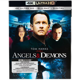 Angels and Demons - 4K UHD Blu-ray