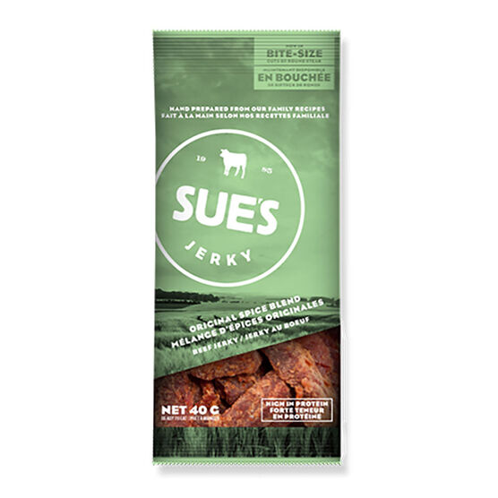 Sue's Jerky - Spice Blend Beef - 40g