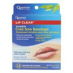Quantum Health Lip Clear Invisible Cold Sore Bandage - 10's