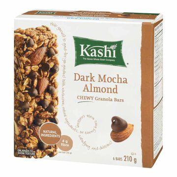 Kashi Chewy Granola Bar - Dark Mocha Almond - 210g