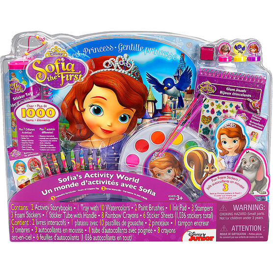 Disney Sofia the First's Activity World Set