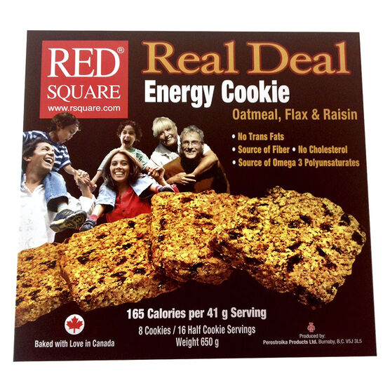 Red Square Real Deal Cookie - 8 pack- 650g