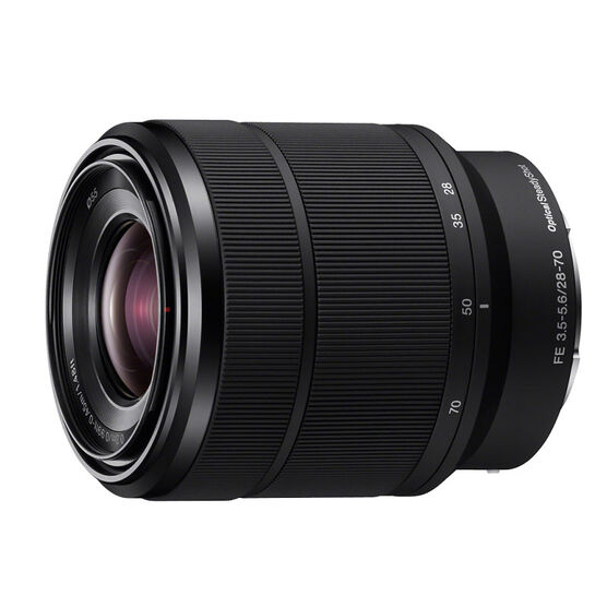 Sony FE 28-70mm F3.5-5.6 OSS Full-Frame E-mount Zoom Lens - Black - SEL2870