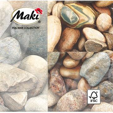 Lunch Napkin - Stones