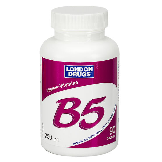London Drugs Vitamin B5 - 250mg - 90's