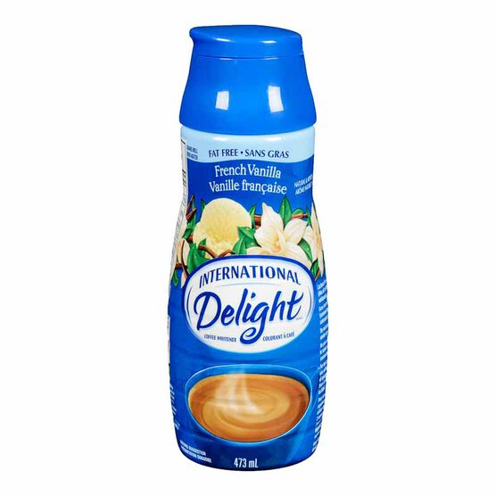 International Delight Fat Free Coffee Whitener - French Vanilla - 473ml