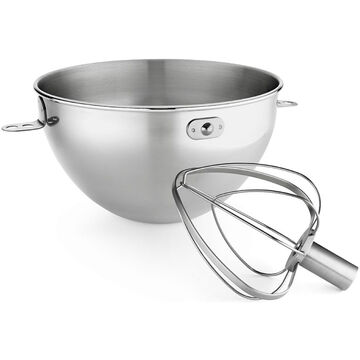 KitchenAid 3-Quart Stainless Steel Bowl with Whip - KN3CW