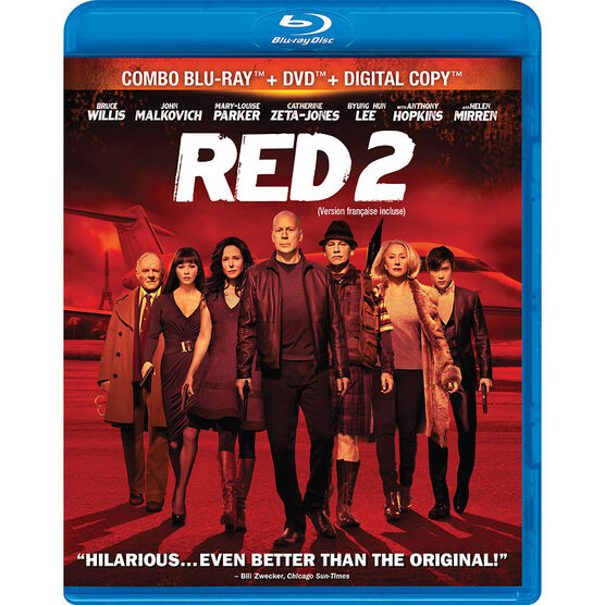 Red 2 - Blu-ray + DVD + Digital Copy