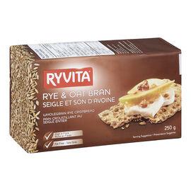 Ryvita Crispbread - Rye & Oat - 250g