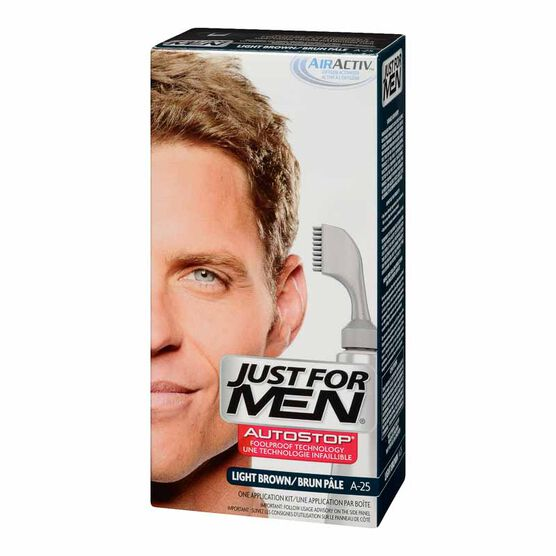 Just For Men AutoStop Hair Colour - Light Brown