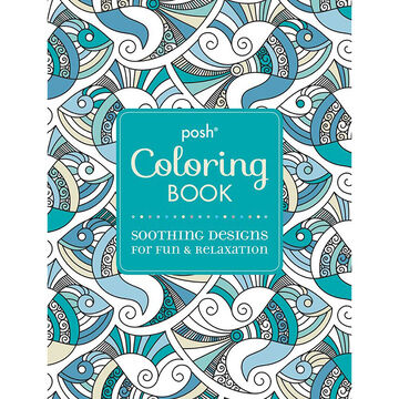 Posh Coloring Book - Soothing Designs