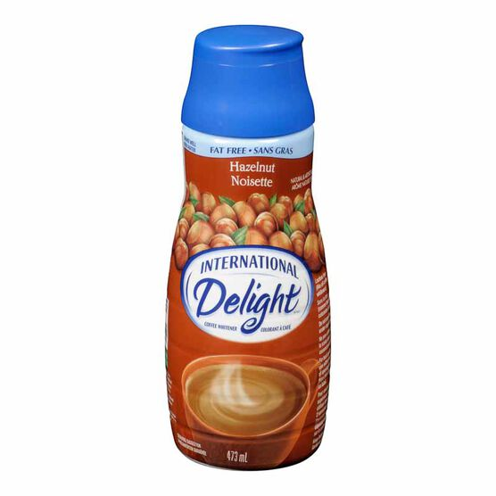 International Delight Fat Free Coffee Whitener - Hazelnut - 473ml