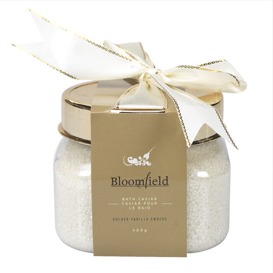 Bloomfield Bath Caviar - Golden Vanilla Embers - 400g