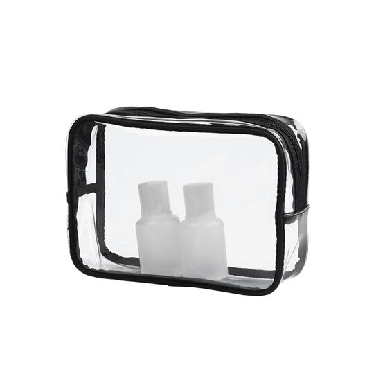 Modella Clear Basics Fit Organizer Cosmetic Bag