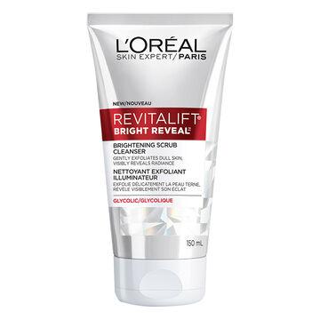 L'Oreal Revitalift Bright Reveal Brightening Scrub Cleanser - 150ml